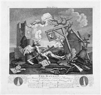 tail piece, or the the bathos by william hogarth
