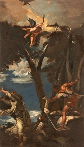 martyrium des hl petrus martyr by titian tiziano vecelli