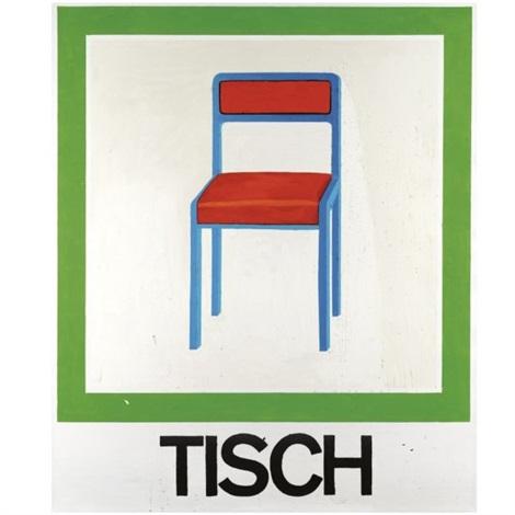 Stuhl Und Tisch stuhl tisch by martin kippenberger on artnet