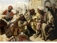 a market in cairo by austrian school (19)