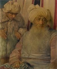 der weinende prophet jeremia by charles-louis rivier