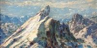 la meije: le doigt de dieu 3987m d'altitude (alpes dauphinoises) by andre albertin