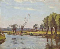 the avon, warwickshire by algernon talmage