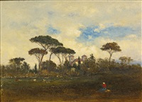 souvenir of italy by george inness