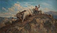 le sillon en montagne (after bourlard) by jules postel
