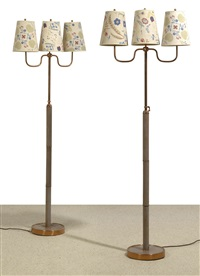 floor lamps (pair) by fritz reichl