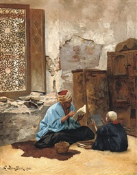 the lesson by ludwig deutsch