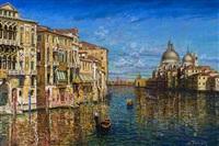 el gran canal, venecia dorada by carlos pfeiffer