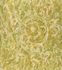 untitled (yellow, green and white abstraction) by beauford delaney