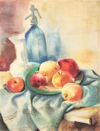 still life with apples by aurel jiquidi