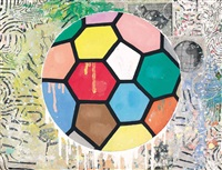 colorful ball by donald baechler