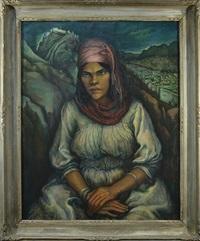 portrait of an arabian maures by martin baer