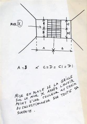 la grille - la couleur - le motif by daniel buren