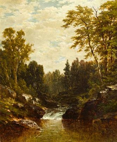 cascade by john william casilear