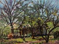 garden landscape by kurt haase-jastrow
