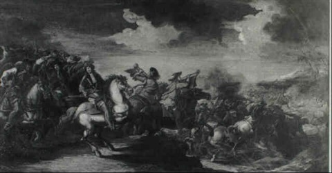 a cavalry skirmish by simonini