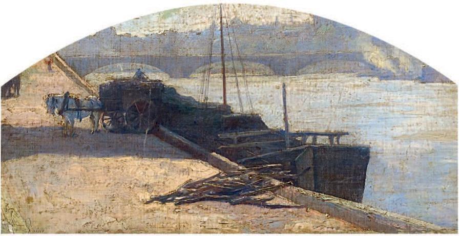 les berges de la seine by stanislas lépine