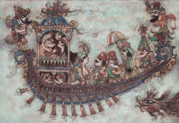karagöz boat by nuri abac