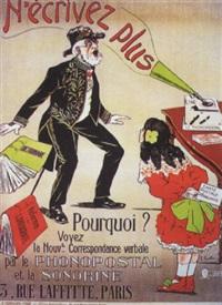 le phonopostal et la sonorine by raphaël courtois