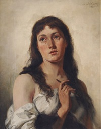 self portrait by sophie von adelung