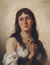 self portrait by sophie von adelung