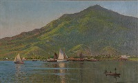 rabaul harbour by charles david jones bryant