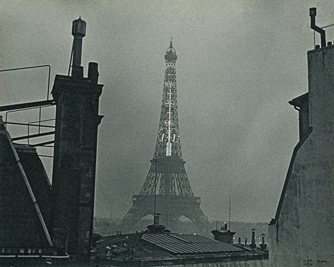 tour eiffel paris by ilse bing