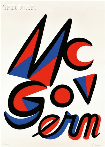mcgovern by alexander calder