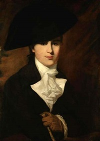 portrait of a gentleman said to be mr. wordsworth by rev. matthew william peters