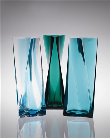 vases set of 3 by tadao ando