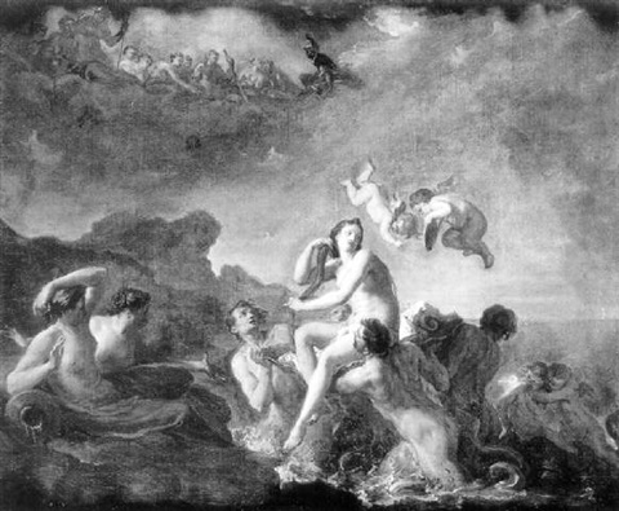 la naissance de vénus by noël nicolas coypel