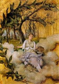 alegoría de la pintura by mariano millan velasco