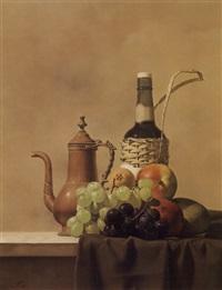 pitcher and fruit by sosuke morimoto