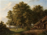 actvity by the farm by pierre louis dubourcq