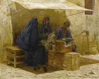 the scribe by max friedrich rabes