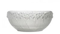 muguet bowl by rené lalique