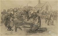 le séchage des filets by achille granchi-taylor