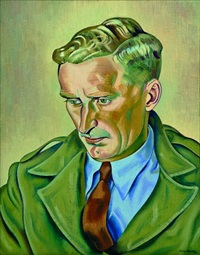 portrait of the artist's younger brother, alan angus by rita angus