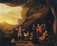 the raising of lazarus by adriaen verdoel