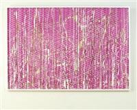 untitled (double castle/purple) by arturo herrera