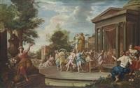 the adoration of flora by italian school-roman (17)