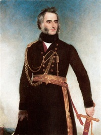 portrait of sir charles james napier wearing uniform by henry william pickersgill