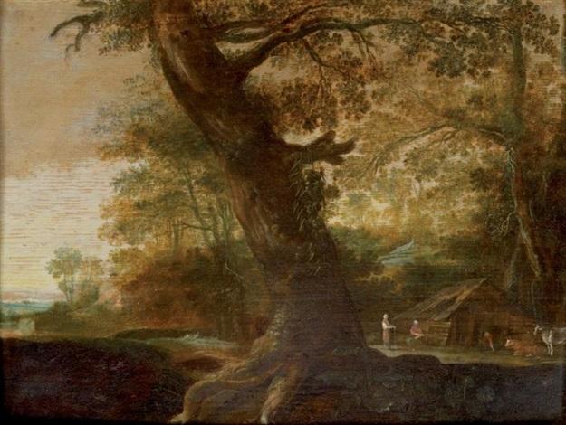 le gros chêne près de lappentis by alexander keirincx