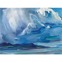 storm over the st. lawrence by george douglas pepper