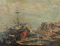 shipyard by antonis kanas