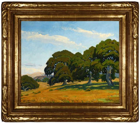 california oaks by arthur hill gilbert