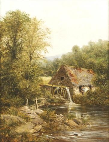 a pandy mill dolgally north wales by john gunson atkinson