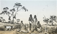 natives of south australia by alexander schramm