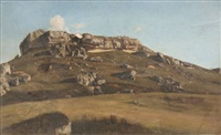 paysage by paul camille guigou