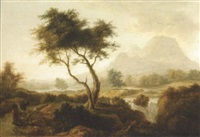 an irish landscape by william ashford